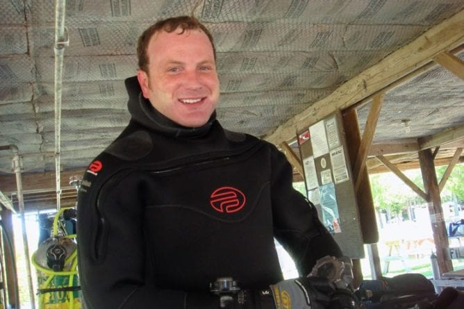 The Missing Diver - Ben McDaniel