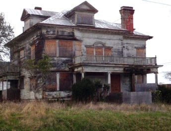 The Abandoned Captain George Conrad Flavel Home