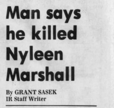 The Disappearance of Nyleen Marshall