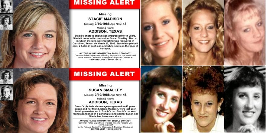 The Disappearance of Susan Smalley & Stacie Madison • Morbidology