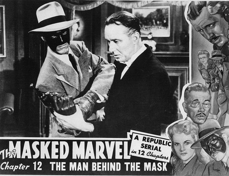 Who Killed the Masked Marvel?