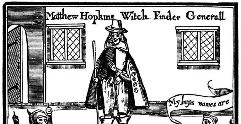 The Witchfinder - Matthew Hopkins
