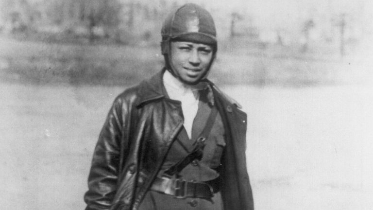 The First Woman African American Pilot - Bessie Coleman